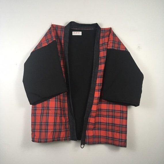 Urban Disciple By Ghoul Boy 2of2 Plaid Noragi Coat Jacket