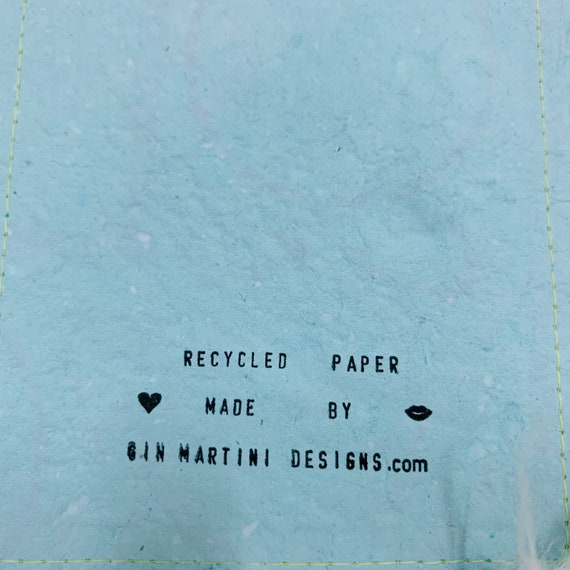 "3 Pieces of Recycled Paper Handmade 4.5"" X 6.5"""