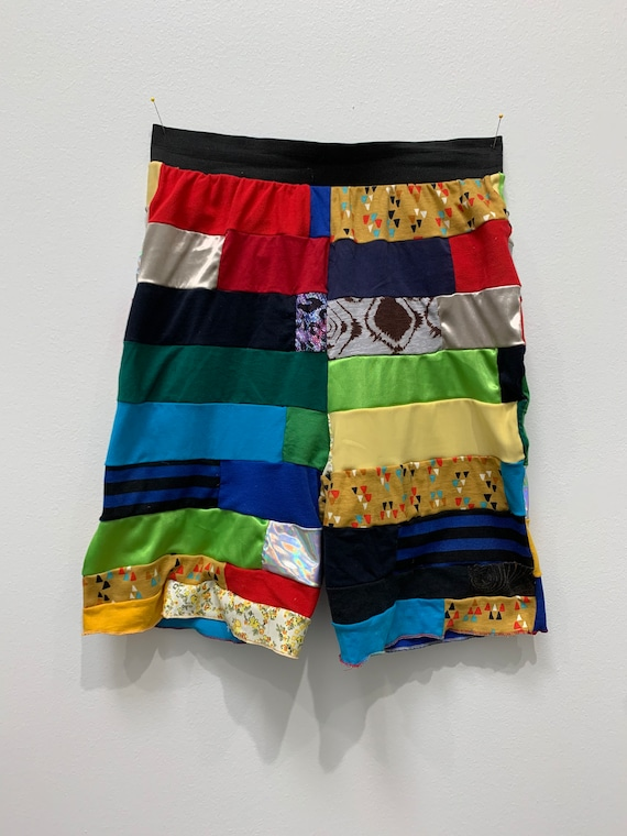 Basketball style Shorts Made from Recycled T-shirt's Sustainable