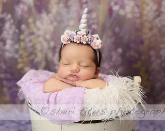 80260f5324d1 Unicorn Headband Baby - Toddler - Newborn Unicorn Headband - Small Horn -  Gold Horn - White Horn - Baby Unicorn Headband