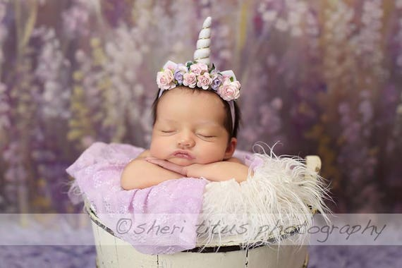 Unicorn Headband Baby - Toddler - Newborn Unicorn Headband - Small Horn -  Gold Horn - White Horn - Baby Unicorn Headband c331b5dc214