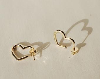 Teresa Heart Earrings *ready-to-ship