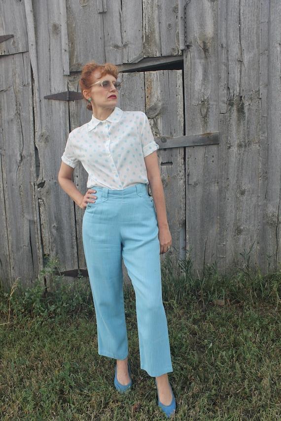 Vintage 50's Ranch Pants Western Rockabilly Baby B