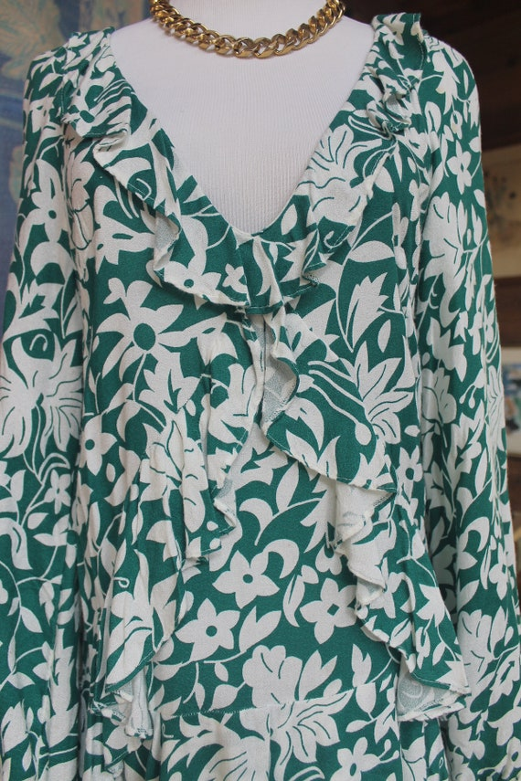 Vintage Free People  Mini Dress with Ruffles - image 6