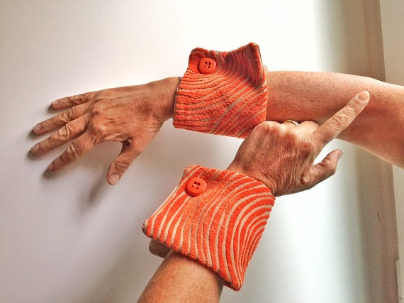 blouse cuffs,Fabric jewelry, shirt extension personalized wrist cuff