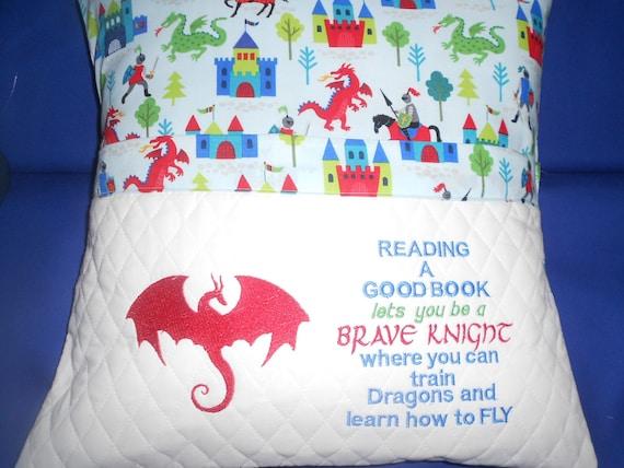 Dragon Reading Pillow