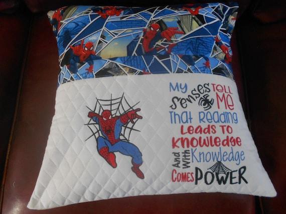 Spiderman Reading Pillow