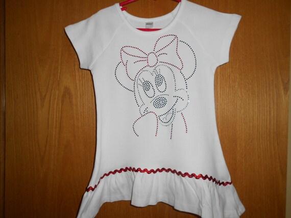 Rhinestone Minnie t Shirt
