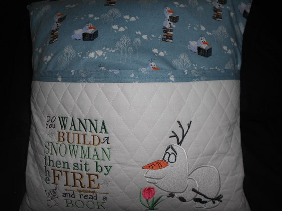 Olaf  Frozen Reading Pillow