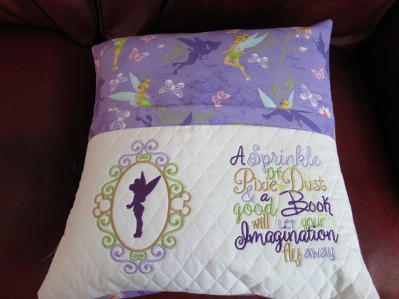 Tinkerbell Reading Pillow