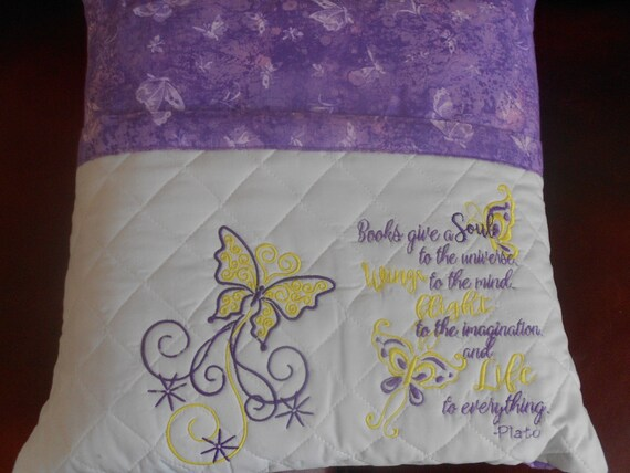 Butterfly  Reading Pillow