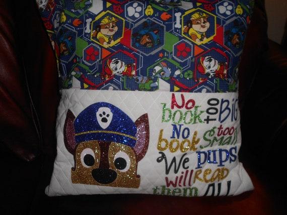 Paw Patrol Reading Pillow