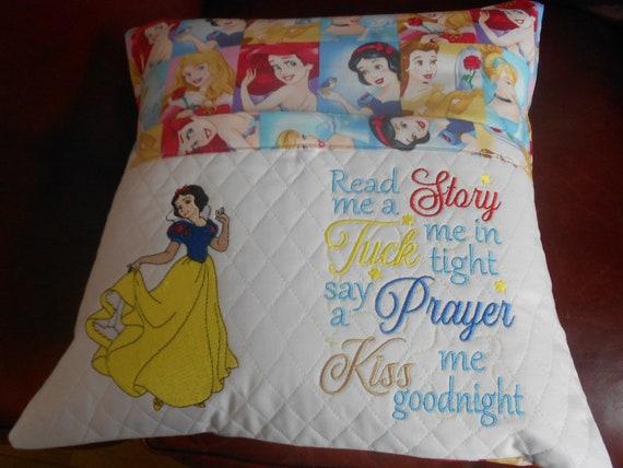 Snow White Reading Pillow