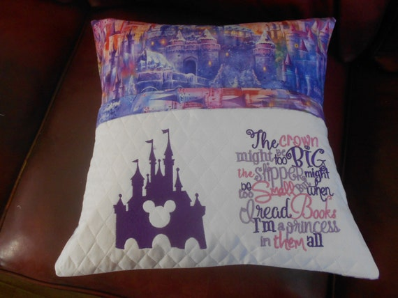 Disney Castle  Reading Pillow