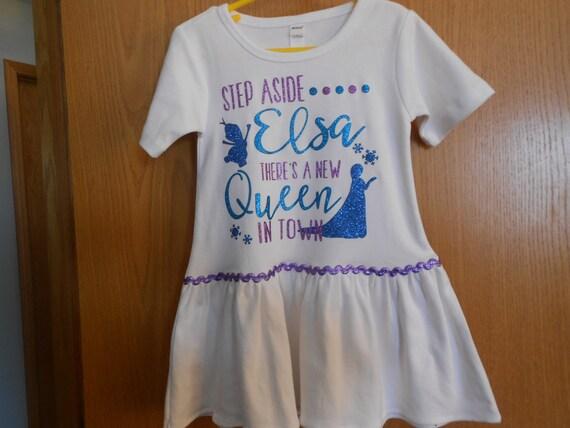 SALE Elsa Dress Size 6 only