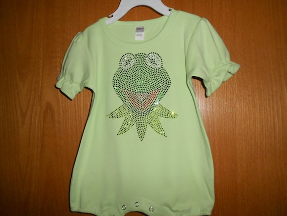 Kermit the Frog Rhinestone Transfer