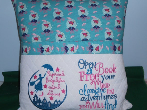Mary Poppins  Reading  Pocket Pillow