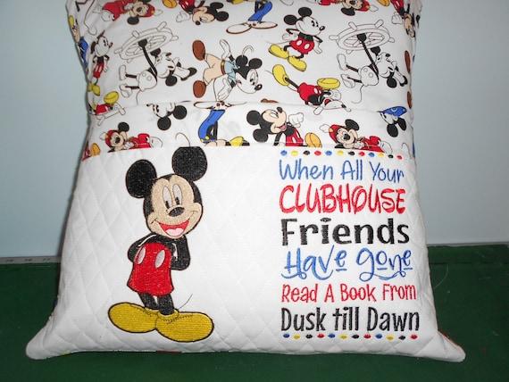 Mickey  Reading Pillow