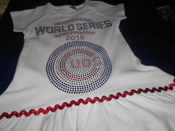 Rhinestone Chicago Cubs t Shirt