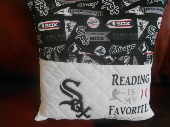 Chicago Sox Reading Pillow