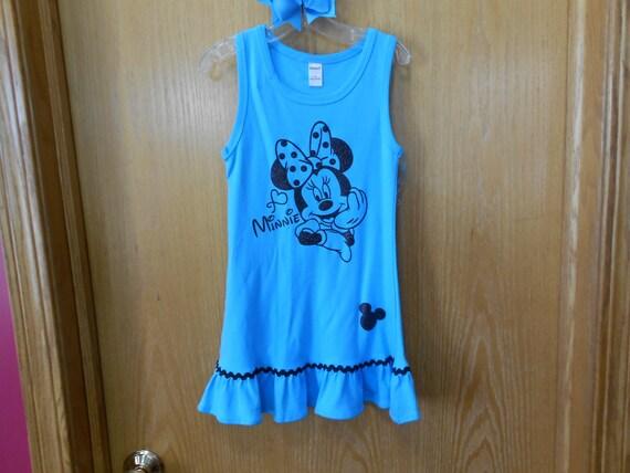 Minnie Size 4  Turquoise   Dress  SALE