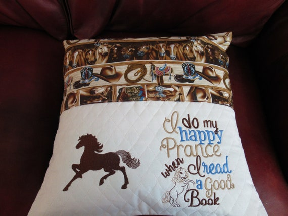 Horse's Reading Pillow
