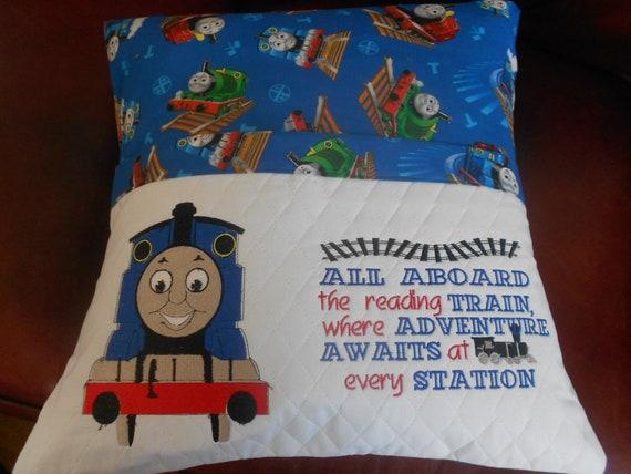 Thomas The Train Reading Pillow
