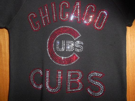 Chicago Cubs Rhinestone Transfer