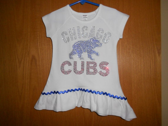Rhinestone Chicago Cubs t Shirt