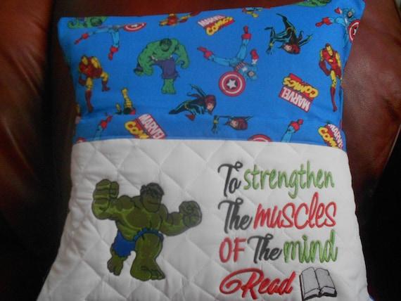 Hulk Reading Pillow