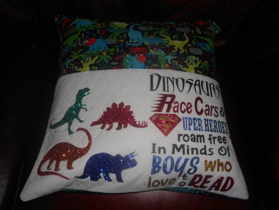 Dinosaur's  Reading Pillow