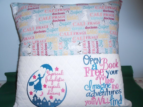 Mary Poppins  Reading Pillow