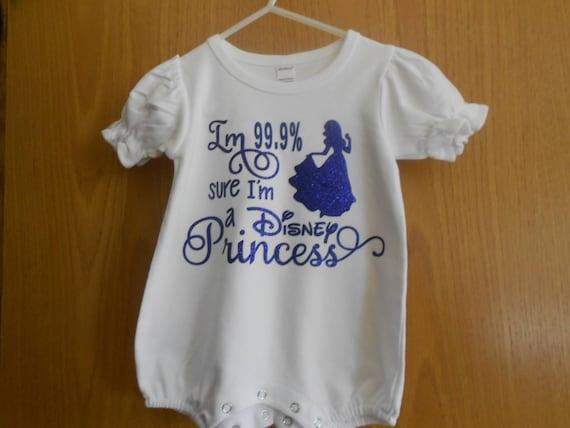 I'm 99.9 % sure I'm a Disney Princess Onesie
