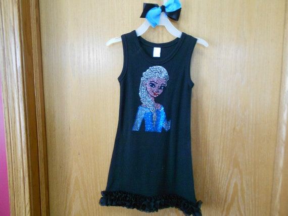 Elsa  Size 2 Rhinestone   Dress SALE !!!