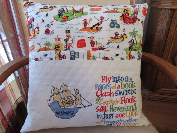 Pirate  Reading Pillow
