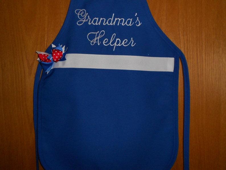Grandma/'s  Helper Child/'s  Apron