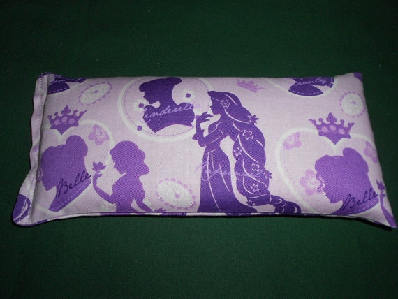 Boo Boo Bag, Rice and Flax Seed, Cold or Hot Pack 8 x 3.5 Princesses