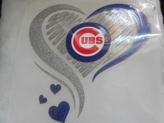 Chicago Cubs  Glitter  Transfer