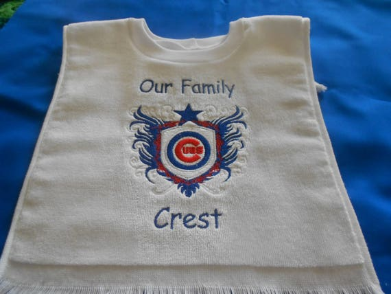 Our Family Crest, Sports team over the head bib