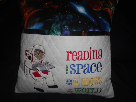 Out of this world  Reading Pillow