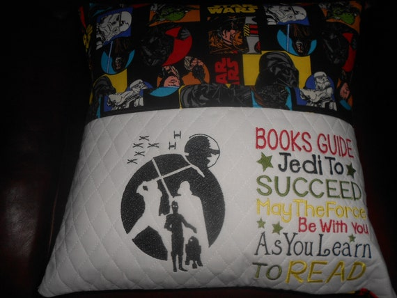 Star Wars Reading Pillow