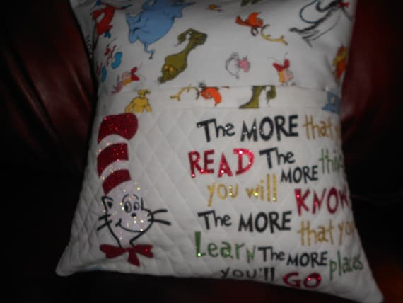 Dr Suez  Reading Pillow
