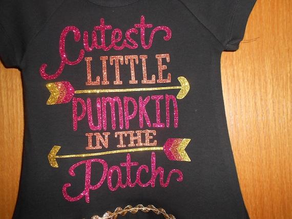 Cutest little Pumpkin in the patch TRANSFER