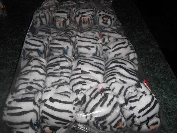 12 Zebra Beanie Babies Retired