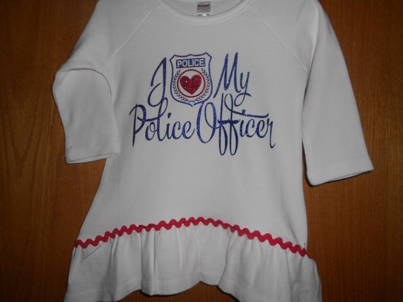 I Love my Police Officer TShirt