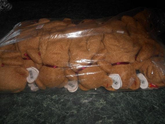 12 Teddy Beanie Babies Retired
