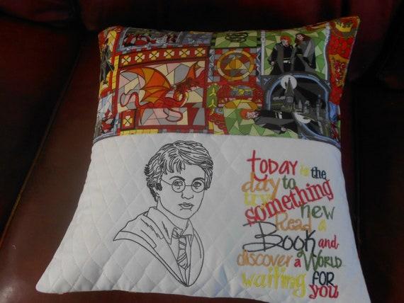 Harry Potter  Reading Pillow