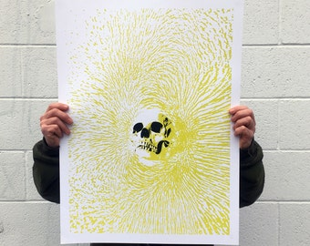 """Limited Edition - """"Clovis"""" : 2-Color Screen-printed Poster"""