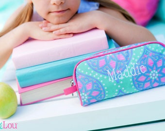 Marlee Pencil Case Monogrammed Personalized Pouch