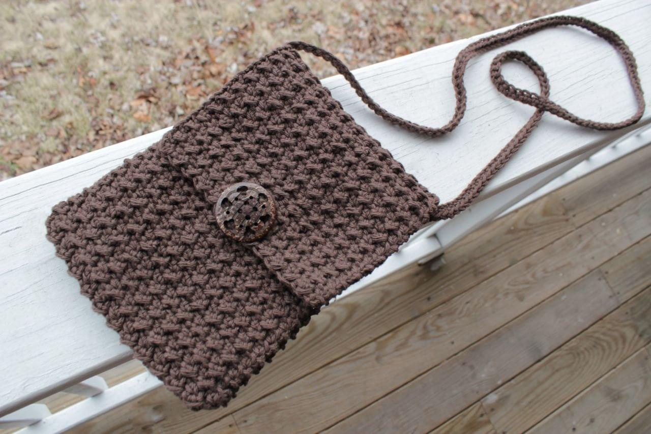Crochet Handbag Pattern Interesting Decoration